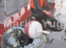 Ship deployment of SVP-BTC80 drifter